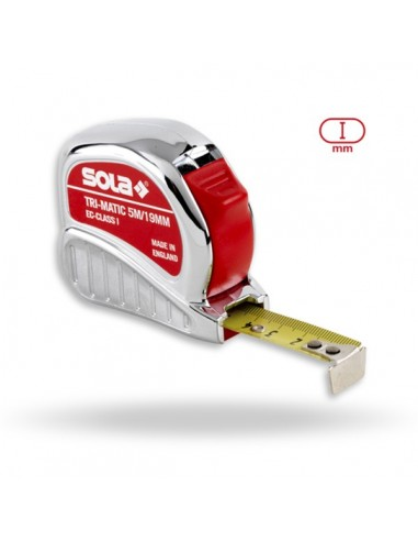 Tape Meaure SOLA TRI-MATIC 5m