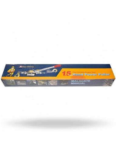HAND POWER PULLER - HP112/HP117  JUN...