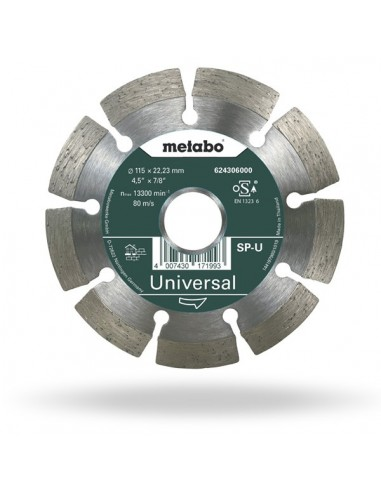 DIAMOND CUTTING DISC METABO 624306000