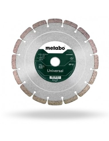 DIAMOND CUTTING DISC Ø 230mm METABO 624310000