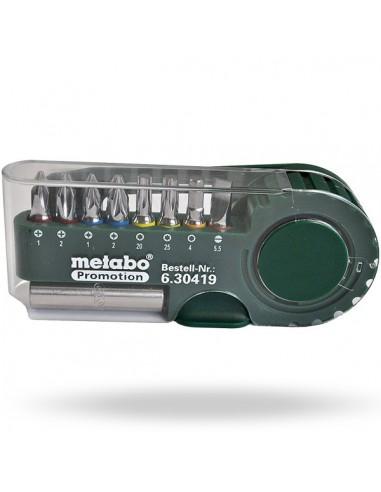 BIT BOX SP 9 PIECES, METABO 630419000