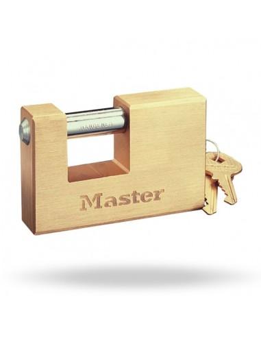 Solid brass body Padlock MASTERLOCK