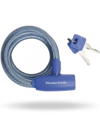 Bike keyed cable lock 1,8m 8mm MASTERLOCK 8212EURDPRO